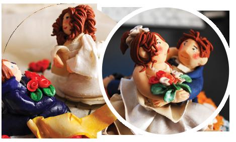cake topper fatti a mano