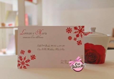 sposarsi a natale coi fiocchi wedding design invito