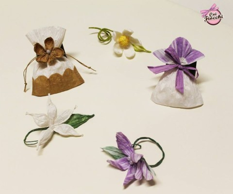 Coi Fiocchi wedding design sacchetti per confetti