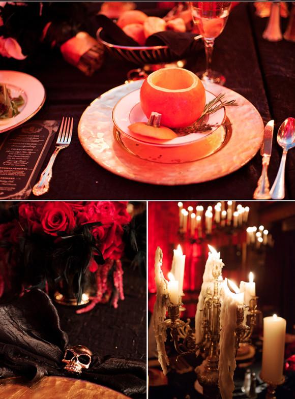 matrimonio-a-tema-halloween-benvenuti-nel-castello-di-dracula-dettagli-tavolo-candele