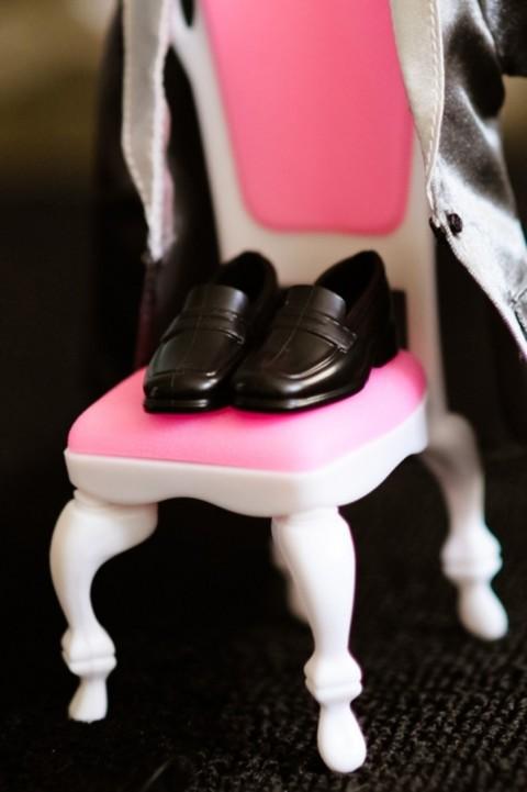 Siete invitati al matrimonio di Barbie e Ken_scarpe ken