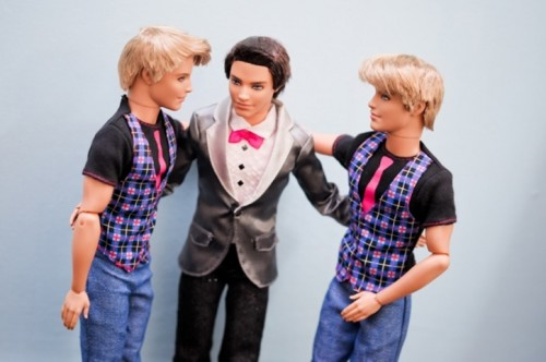 Siete invitati al matrimonio di Barbie e Ken_testimoni