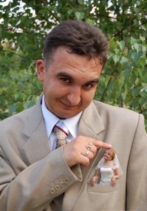 Le foto di nozze più divertenti del web scelte da Coi Fiocchi_sposa in tasca