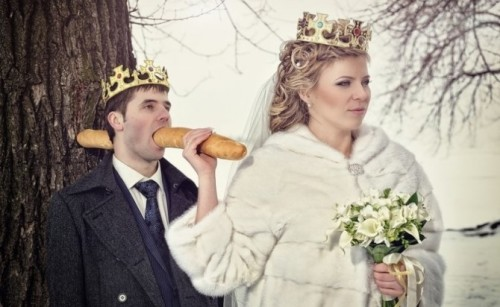 Le foto di nozze più divertenti del web scelte da Coi Fiocchi_agguato al re