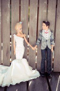 Siete invitati al matrimonio di Barbie e Ken