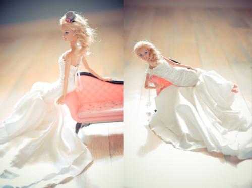 Siete invitati al matrimonio di Barbie e Ken _sposa
