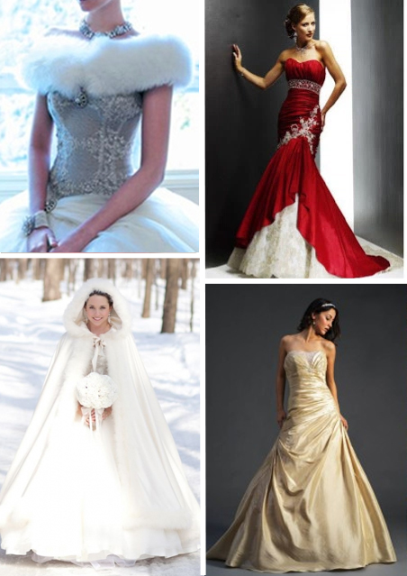alternative tag_idee per matrimoni natalizi_abiti da sposa