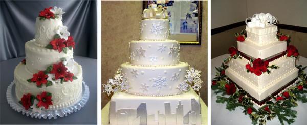 alternative tag_idee per matrimoni natalizi_torta nuziale