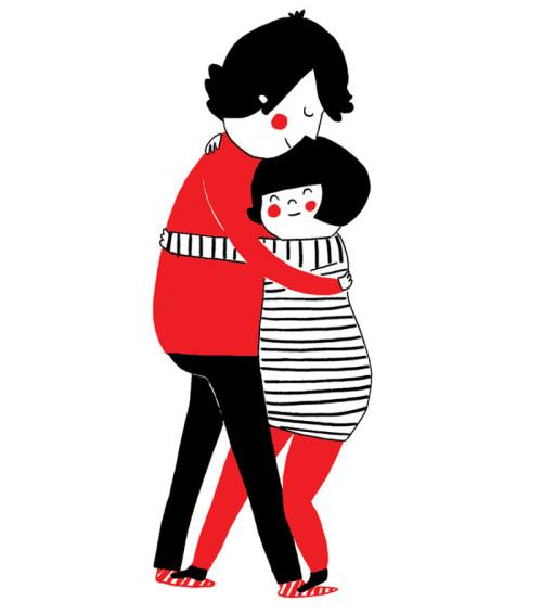 illustrazioni d'amore-soppy-philippa-rice-abbraccio