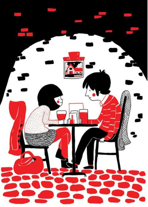 illustrazioni d'amore-soppy-philippa-rice-caffè