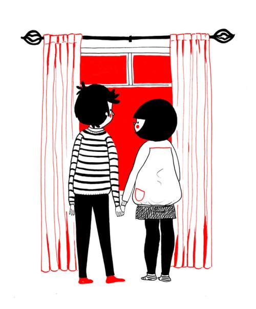 illustrazioni d'amore-soppy-philippa-rice-finestra