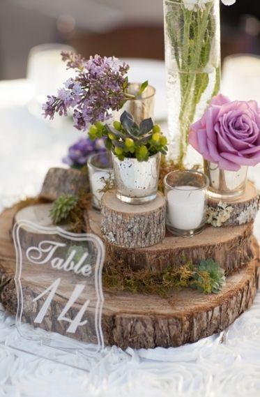 Tante belle idee con il legno per il tuo matrimonio rustico_segnatavolo