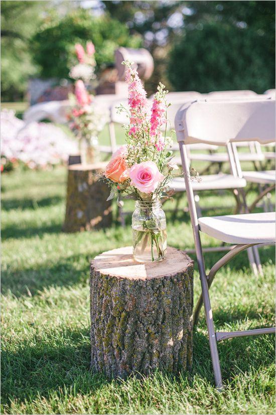 Tante belle idee con il legno per il tuo matrimonio rustico_addobbi cerimonia