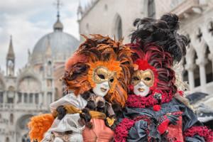 Matrimonio a tema Carnevale di Venezia