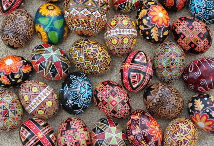 L'arte di decorare le uova di Pasqua nell'Est Europa-Pysanka-ucraina