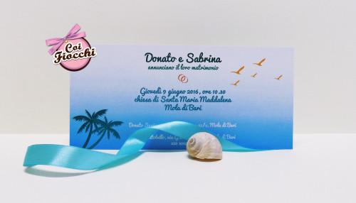 matrimonio-a-tema-party-sulla-spiaggia-coordinato-nozze-tropical-annuncio-coi-fiocchi