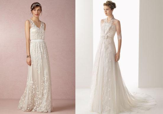 abiti da sposa shabby chic-rosa clarà
