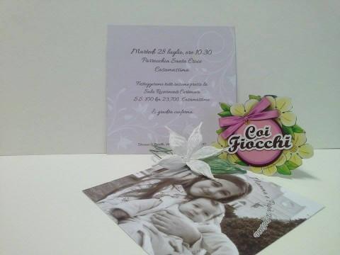 partecipazioni-di-nozze-personalizzate-con-foto dei figli perfetta anche per un anniversario