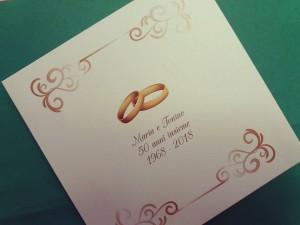 Inviti per l'anniversario di matrimonio