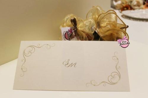 Inviti anniversario di matrimonio_ iniziali e ghirigori_coi fiocchi