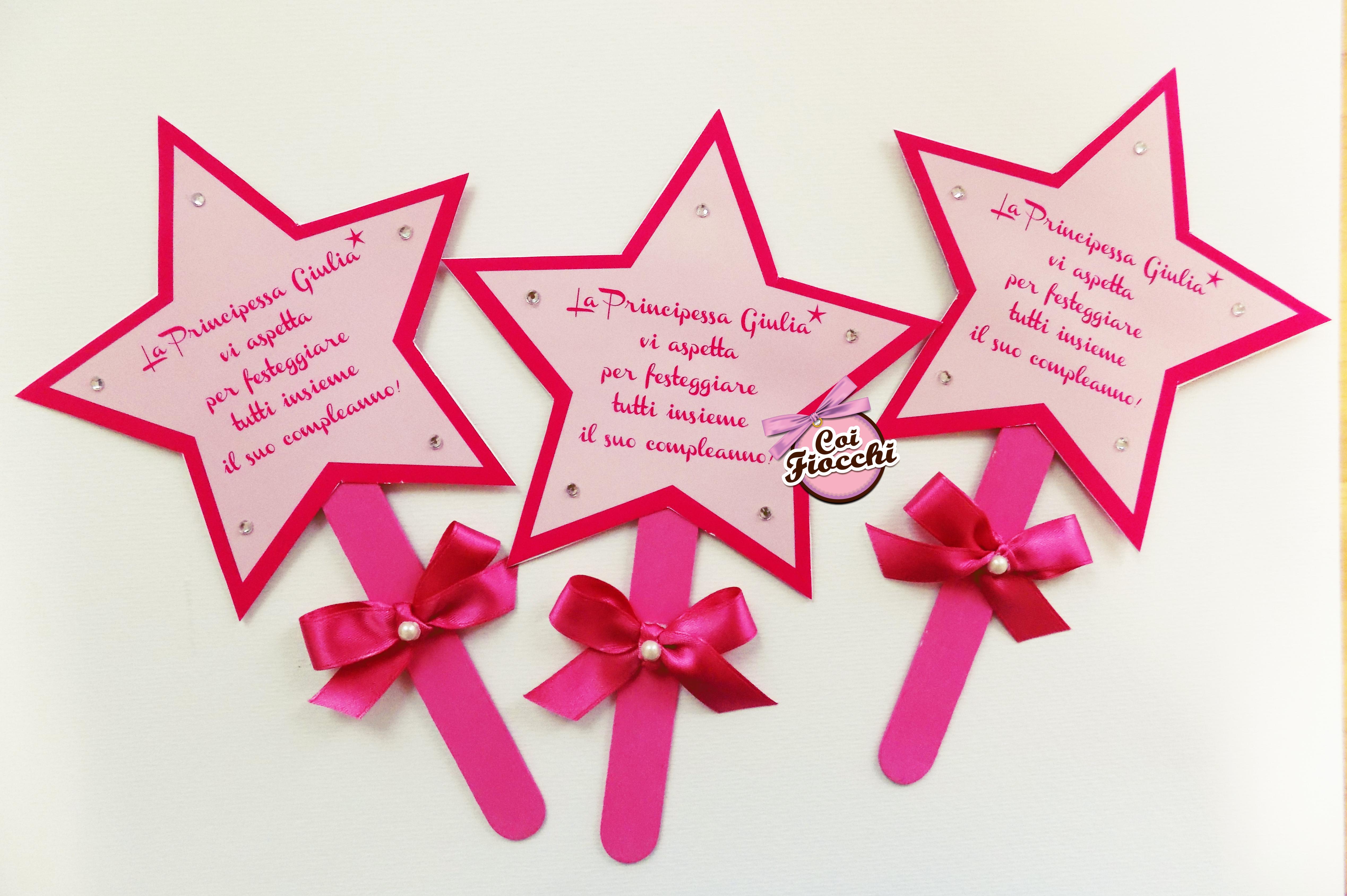 inviti-primo-compleanno-personalizzati-bimba-bacchetta-magica-con-stellina-coi-fiocchi-studio-grafico