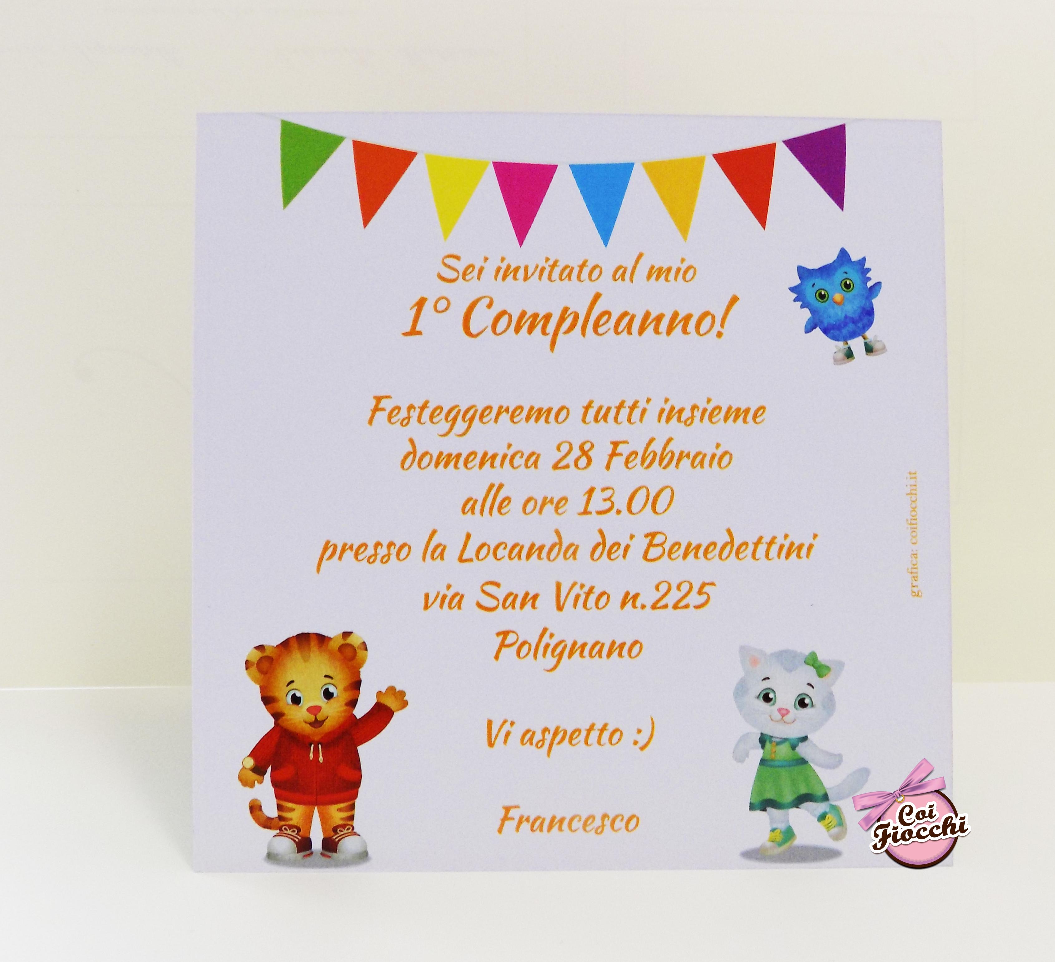 inviti-primo-compleanno-personalizzati-daniel-tiger-coi-fiocchi-studio-grafico