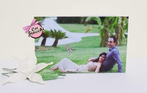 Scegliere la carta giusta per la partecipazione di nozze _carta liscia_fotografia sposi
