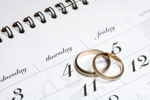 la data delle nozze