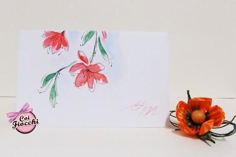 Scegliere la carta giusta per la partecipazione di nozze_carta marcata_acquerello