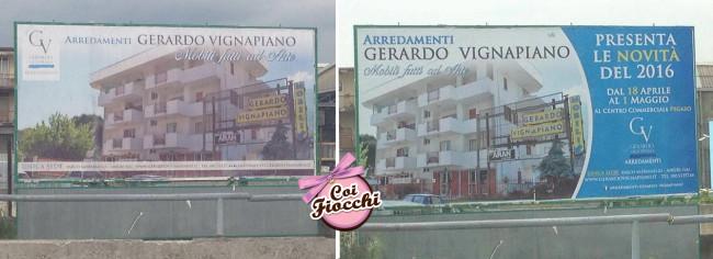 grafica pubblicitaria coi fiocchi-grafica pubblicitaria-manifesti 6x3 Arredamenti Gerardo Vignapiano