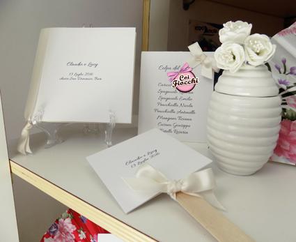 coordinato nozze elegante in stile total white_coi fiocchi