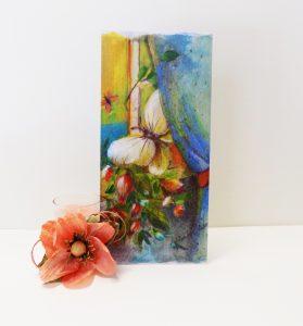 Personalizzare la partecipazione di nozze con un vostro dipinto