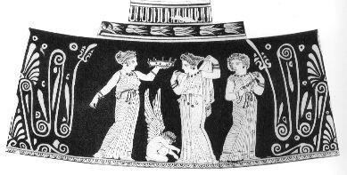 storia dell'abito da sposa_ matrimonio nell'antica grecia_la vestizione della sposa_ museo di boston