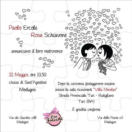 partecipazione-puzzle-fumetto-con-sposini-stilizzati