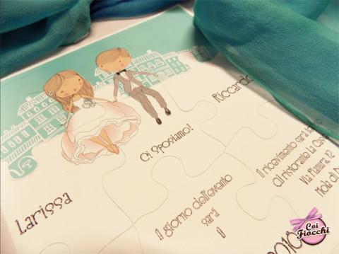 partecipazioni-di-nozze-puzzle-coi-fiocchi-in-scatola-tiffany-particolare