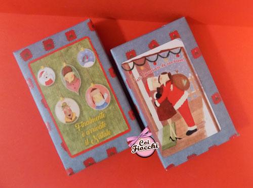 idee regalo natalizie- saponette profumate vegatali con illustrazioni a tema natale