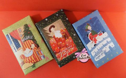 saponette vegetali profumate e illustrate a tema natalizio
