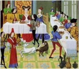 storia-dellabito-da-sposa-cosa-indossavano-le-spose-nel-medioevo-e-nel-rinascimento-banchetto-nuziale