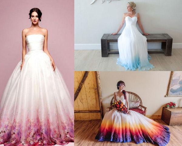 abiti-da-sposa-2017-tutte-le-tendenze-moda-nozze-del-nuovo-anno-abiti da sposa-colorazione-dip-dye