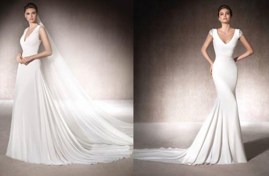 abiti-da-sposa-2017-tutte-le-tendenze-moda-nozze-del-nuovo-anno-abiti da sposa-decorazioni-minimal-st-patrick