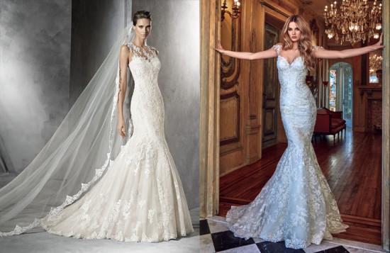 abiti-da-sposa-2017-tutte-le-tendenze-moda-nozze-del-nuovo-anno-abiti-da-sposa-modello-sirena-pronovias-e-galia-lahav