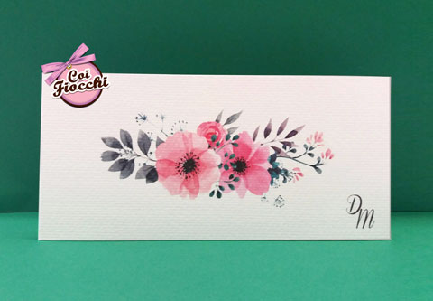 invito-rettangolare-boho-chic-con-decoro-floreale rosa centrale