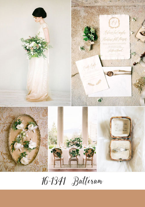 ispirazioni matrimonio color butterum di pantone