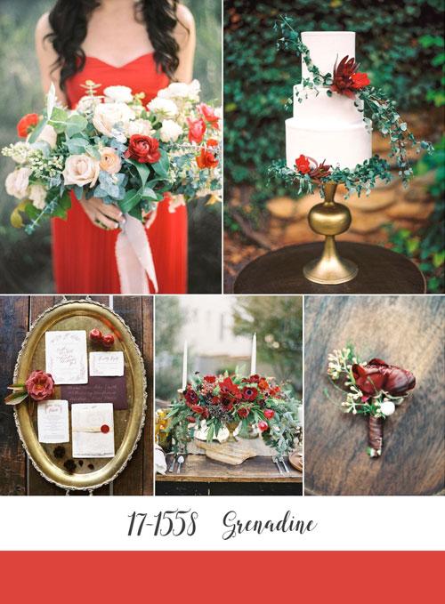ispirazioni Matrimonio color rosso grenadine -foto-di-chicvintagebride-com