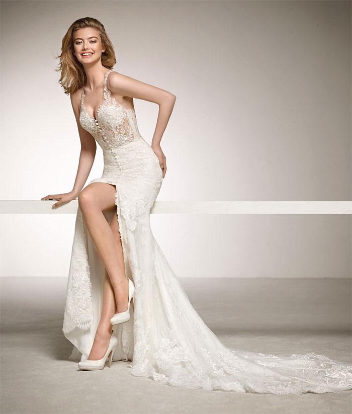 Abiti da sposa 2018  le tendenze nozze del prossimo anno - Coi Fiocchi 83dcf987ead