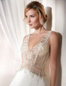 Abiti da sposa 2019: le tendenze nozze del prossimo anno-prima parte-in copertina abito di nicole spose