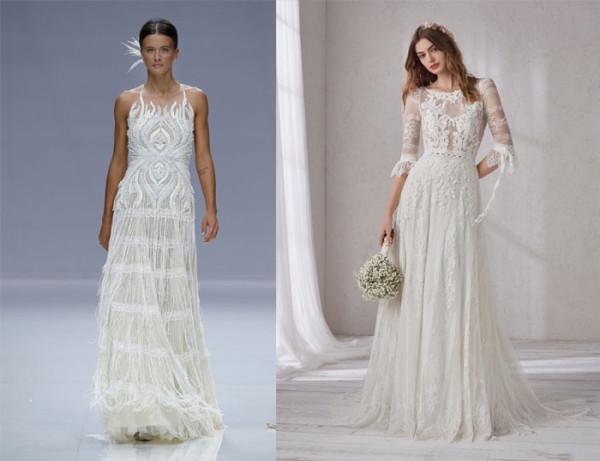 tendenze-nozze-2019-abiti-da-sposa-boho-chic pignatelli pronovias
