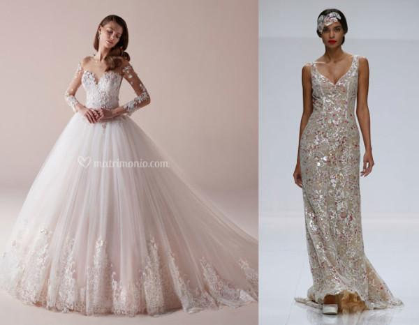 tendenze-nozze-2019-abiti-da-sposa i colori più di tendenza