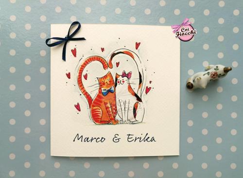partecipazioni-di-matrimonio-illustrate-ad-acquerello-gatti-innamorati