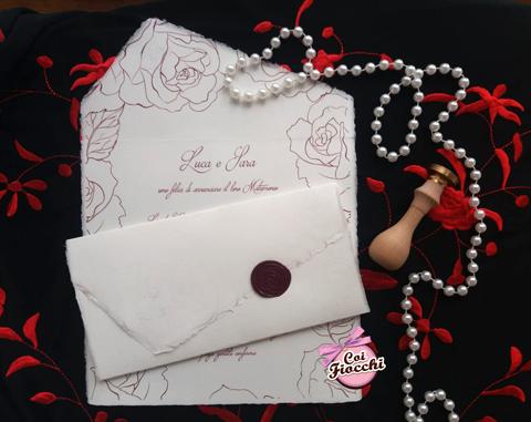 scegliere la carta amalfitana per le partecipazioni di matrimonio